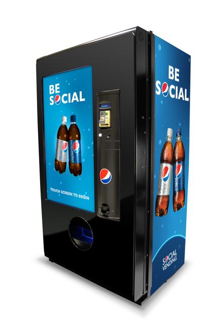 Pepsi Social Vending System
