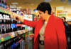 Indra Nooyi at supermarket in Korea